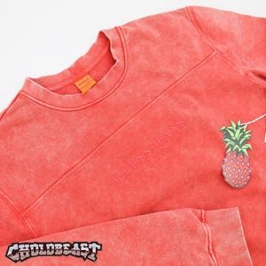 GUESS FARMERS MARKET Tie Dye Embroidered spell out